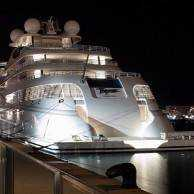 What's Haute by Privé: New Years aboard 482ft Yacht 'Topaz'