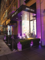 Haute Scene : Grand Opening of Jimmy Choo in Union Square
