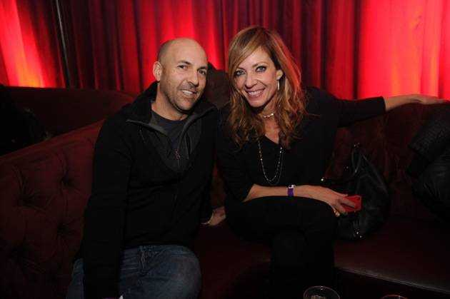 Chris Henze & Allison Janney at Marquee + Stella Artois present TAO Nightclub Sundance