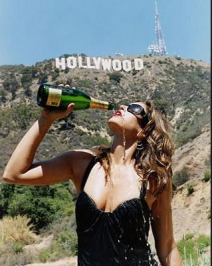 Happy New Year! We're popping champagne tonight, although it probably won't be as fun as this shoot with Terry Richardson. —Cindy Crawford.
