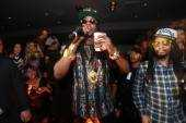 2Chainz performs at 1OAK.