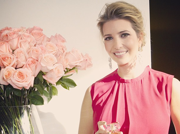At the editor's preview breakfast for the #launch of my new fragrance (in stores this spring!) —Ivanka Trump