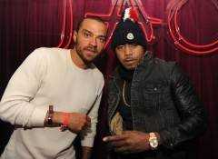 Jesse Williams and Nas at Tao Nightclub at Sundance. Photos: Seth Browarnik/WorldRedEye.com
