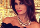 On my way to QVC studios. Fab jewelry & timepieces! Love this affordable versatile necklace! —Melania Trump