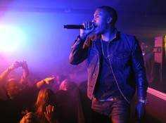 Nas performs at Tao Nightclub at Sundance.