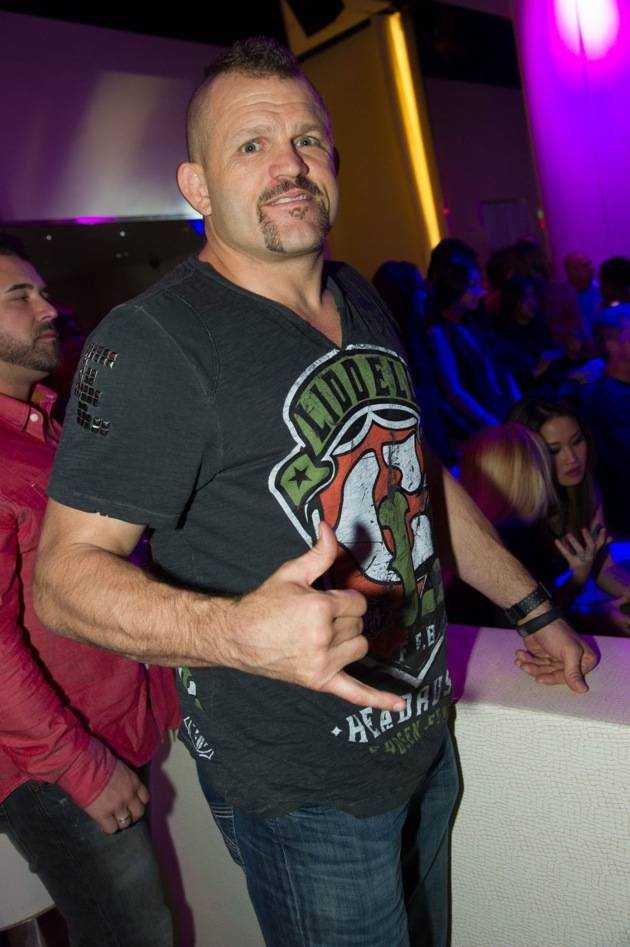 Former UFC Champion Chuck Lidell at Pure Nightclub