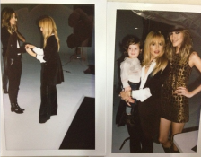 Polaroid fun...behind the scenes at our pre-fall 2013 shoot. —Rachel Zoe