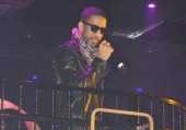 Ryan Leslie performs at The Bank.