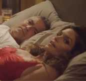 Lol! George Clooney in Bed With Cindy Crawford? Rande Gerber in Bed With Stacy Keibler? Check Out the Hilarious New Casamigos Ad