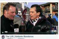 Antonio Banderas Chats About Soccer, Skiing and His Love for Aspen