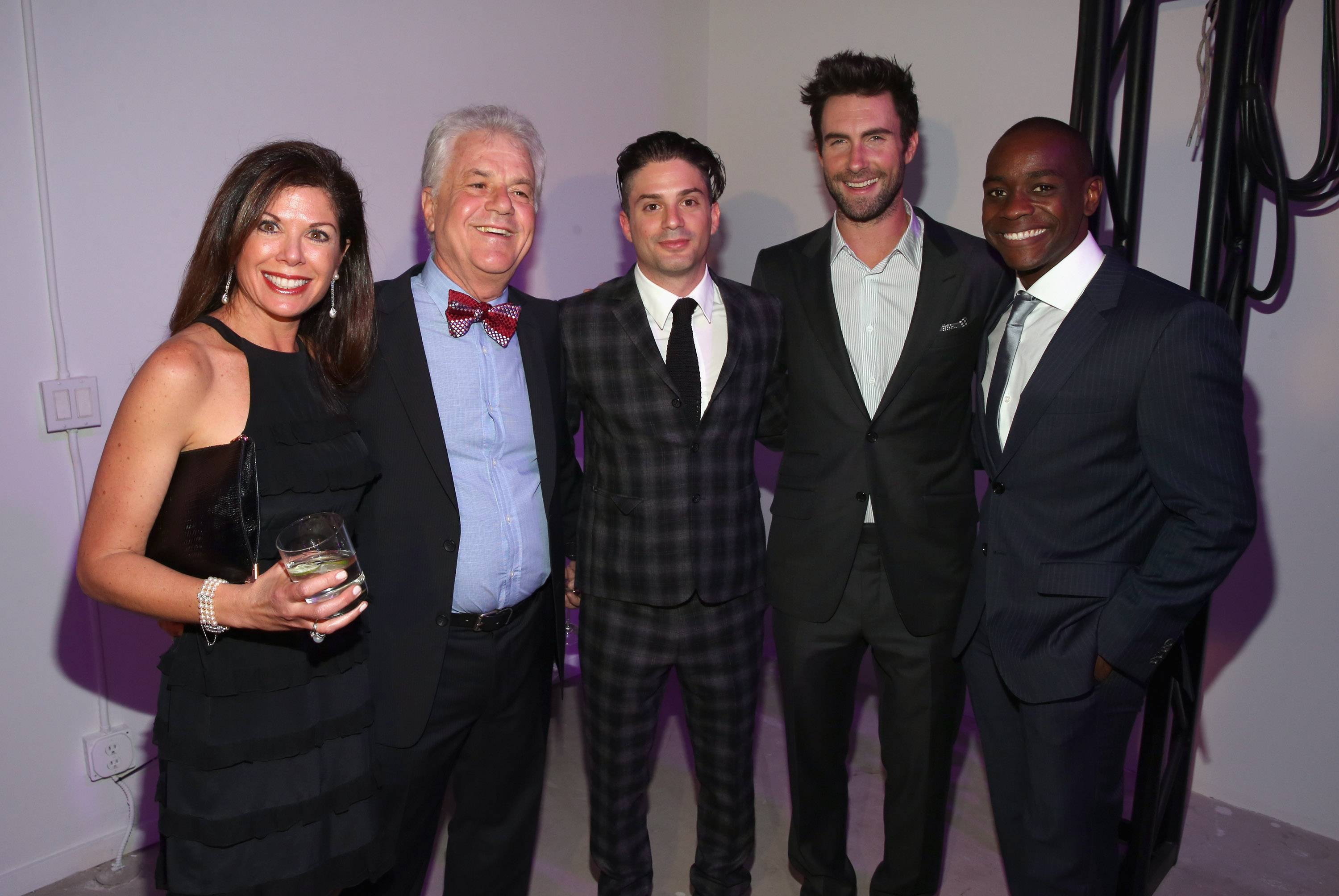 Adam Levine Launches Signature Fragrances At The Premier Fragrance Installation