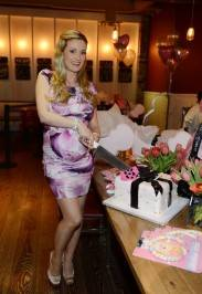 Holly Madison Celebrates Vegas Baby Shower With Help From Le bebe Coo! At Meatball Spot