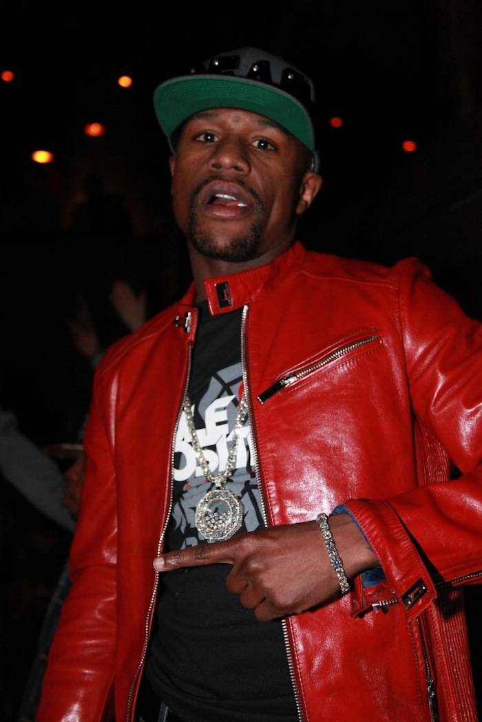 2.24.13 Floyd Mayweather celebrates birthday at Body English Nightclub & Afterhours at Hard Rock Hotel & Casino