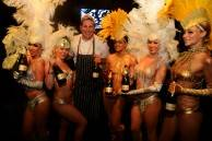 Chefs and Celebs Party at Moet Hennessy's The Q