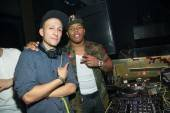 DJ Vice and Ray Rice at Tao.