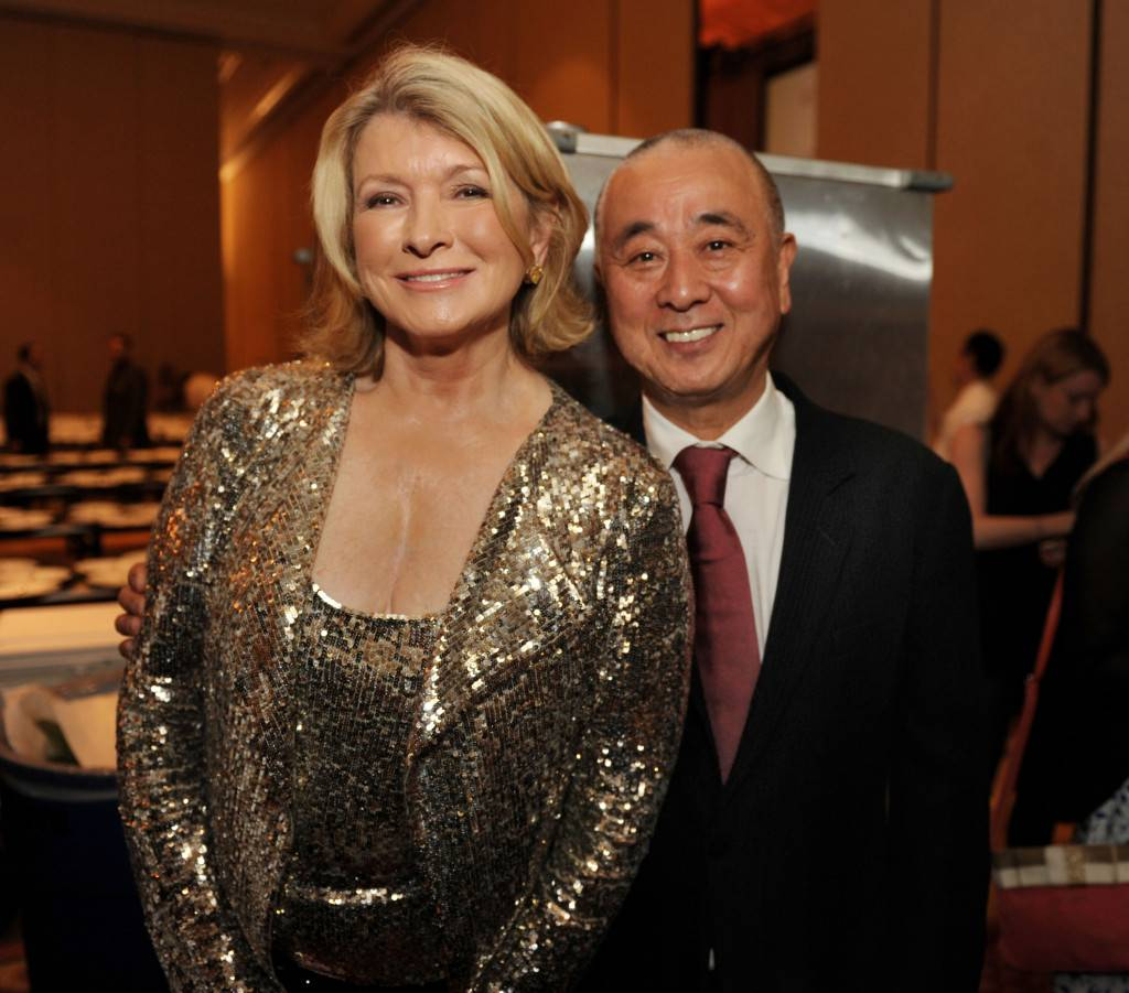 Martha Steward with Nobu Matsuhisa by World Red Eye
