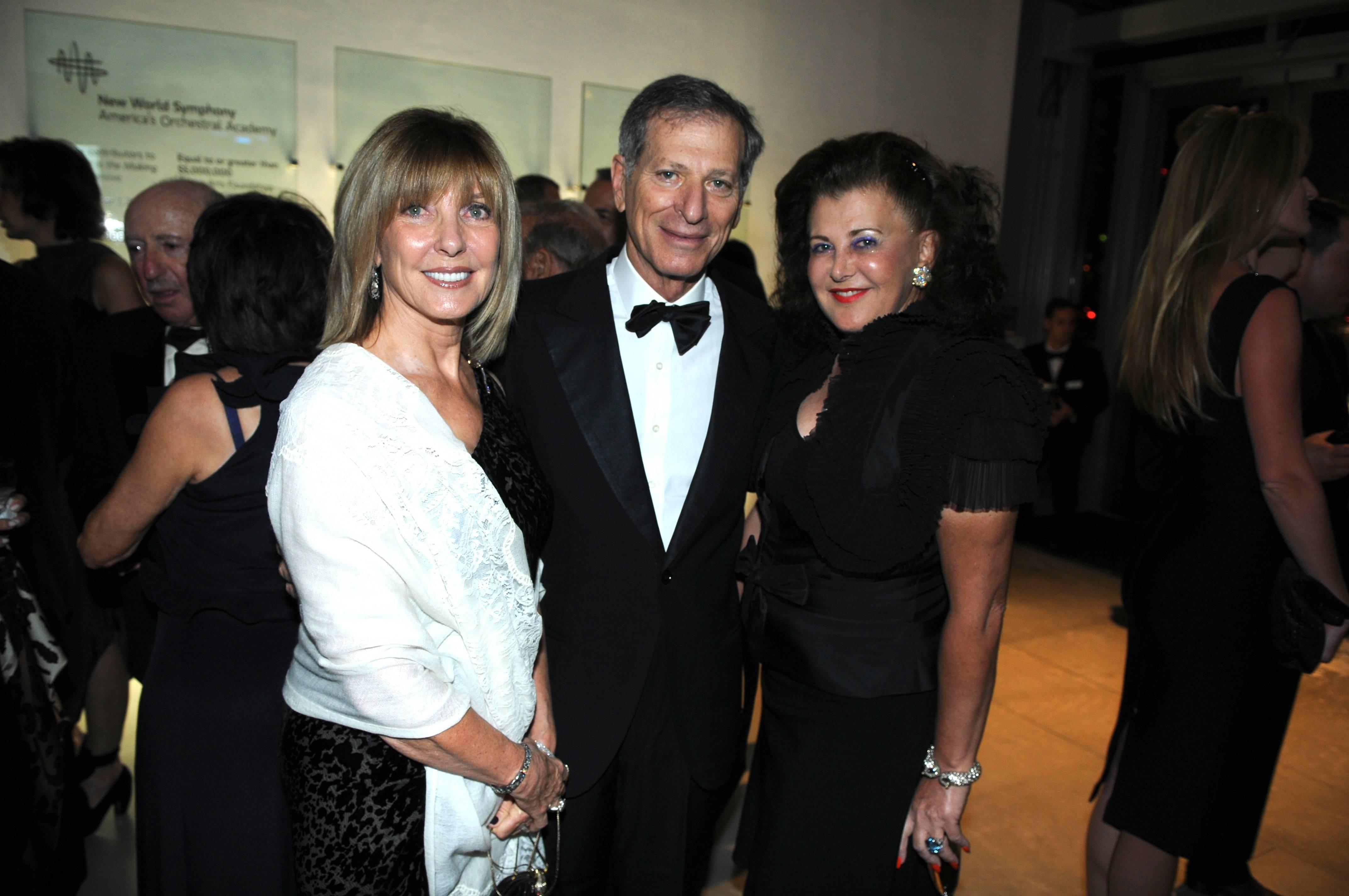 Dorothea and Ambassador Steven Green, Bobbi Berkman