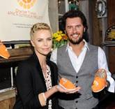 Charlize Theron & Blake Mycoskie Celebrate Launch of TOMS x CTAOP Collaboration