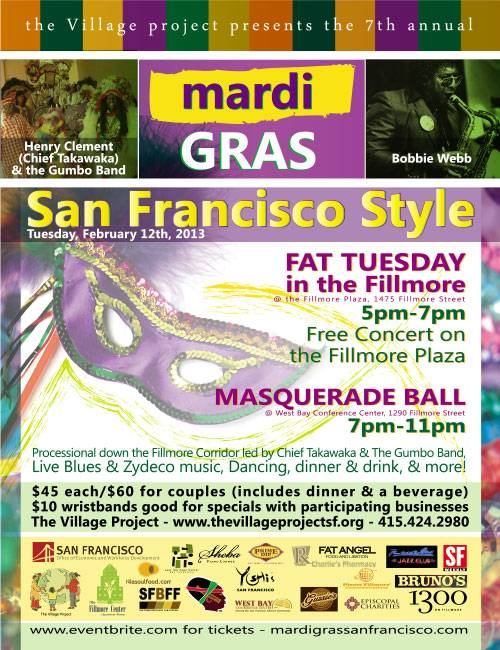 Fillmore Fat Tuesday
