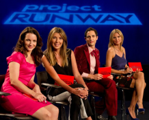 Special Surprise on Project Runway with Kristin Davis! —Heidi Klum