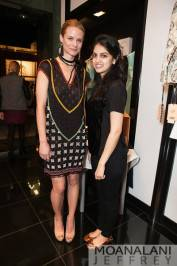Kris Leifer and Sonam Rajpal
