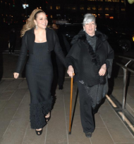 Mariah Carey Celebrates Her Mom's 76th birthday at 'Phantom of the Opera'