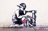 Controversial Banksy Murals Up For Auction This Week Expected To Fetch $700,000