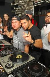 Wilmer Valderrama in DJ booth at Hyde Bellagio, Las Vegas 2.2.13