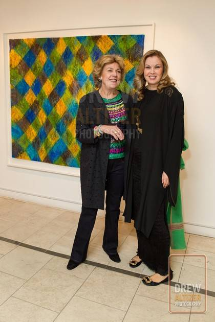 Isabelle de Borchgrave and Tatiana Sorokko.  Photo credit: Drew Altizer Photography