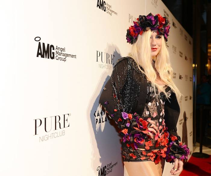 Pop Sensation Ke$ha Celebrates PURE Nightclub's Anniversary With Live Performance