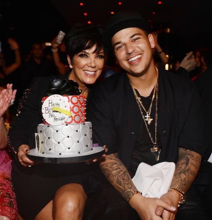 Rob Kardashian Celebrates His 26th Birthday At 1 OAK Nightclub At Mirage
