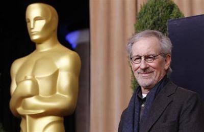 Director Steven Spielberg arrives at the 85th Academy Awards nominees luncheon in Beverly Hills