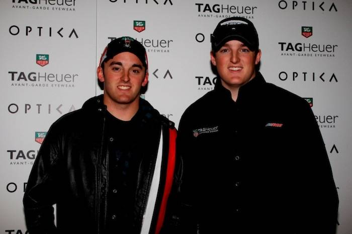 Brothers Austin & Ty Dillon at Optica-Venetian, Las Vegas, 3.8.13