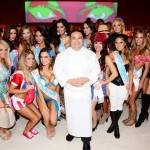 Joseph Elevado and the TropicBeauty Model World Finals contestants.