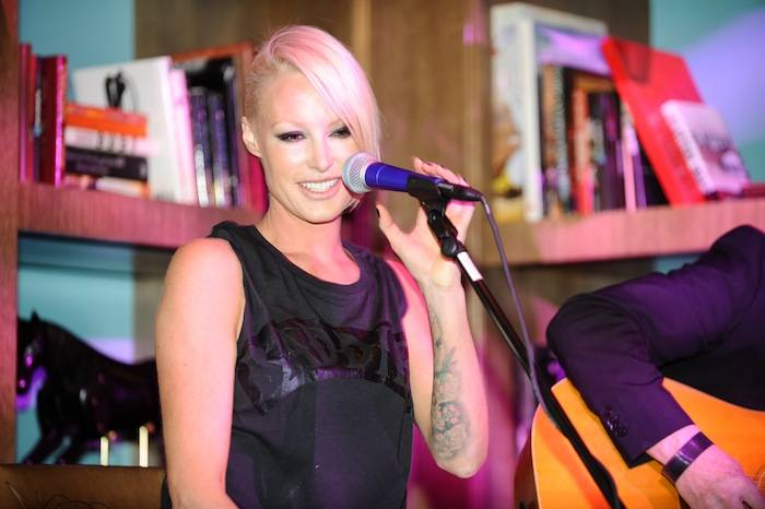Emma Hewitt at Marquee. Photos: Brenton Ho/Powers Imagery