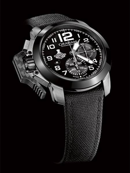 GRAHAM Chronofighter Oversize LA Kings  2CCAC.B08A-PR