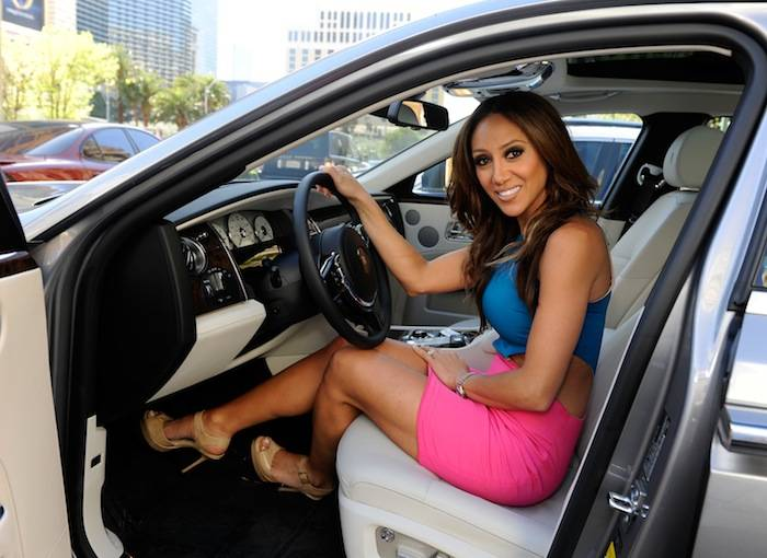Melissa Gorga and Rolls Royce