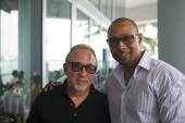 Emilio Estefan and Michael Honablue
