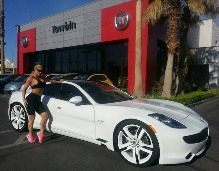photo of Coco Austin Fisker Karma - car