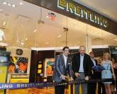 John Travolta Helps Breitling Open New Boutique in Orlando