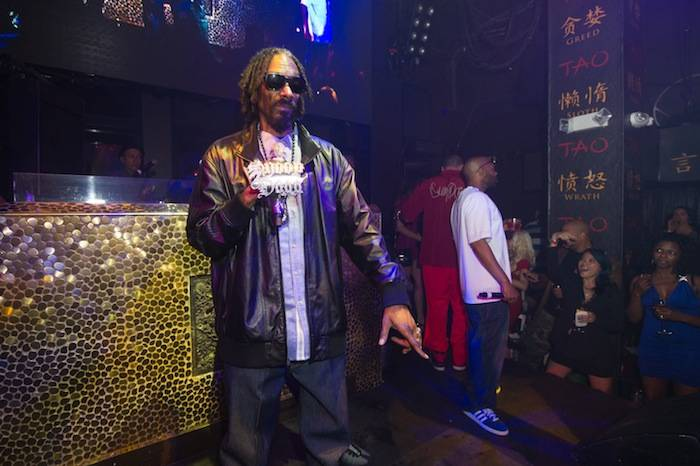 Snoop Dogg performs at Tao. 