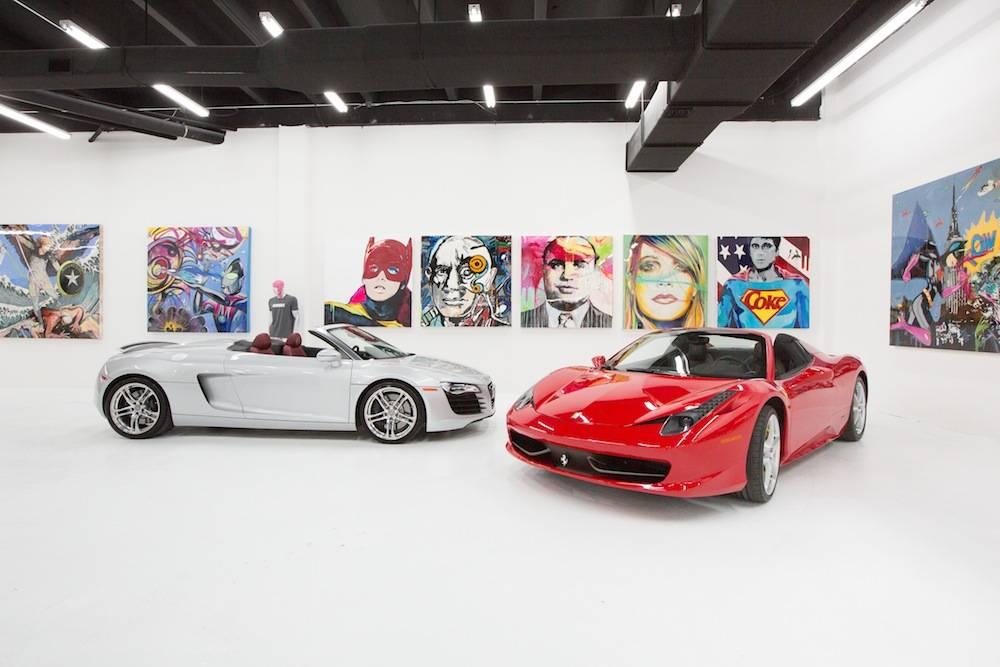 Lou La Vie Unveil Expanded Miami Showroom For Exotic Cars