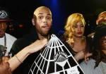 Chris Brown Celebrates His Birthday At 1OAK Nightclub At The Mirage