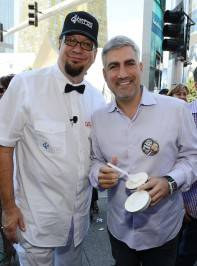 Penn Jillette and Taylor Hicks