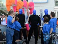 Blue Man Group and Opportunity Village clients