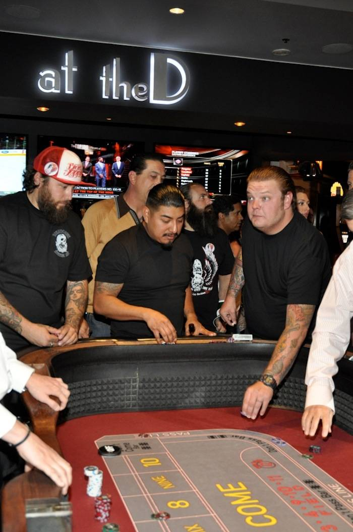 "Corey ""Big Hoss"" Harrison celebrates 30th birthday at the D, Las Vegas, 4.27 (1)"