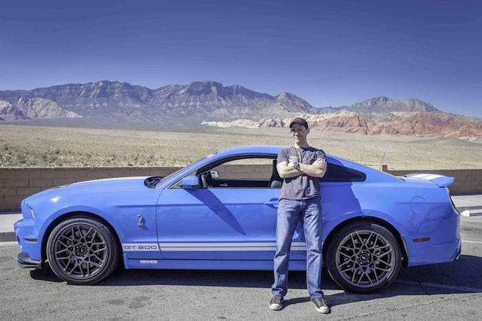 Jeff Leibow with a Shelby GT500; Photo Credit Vik Chohan Photography.jpg