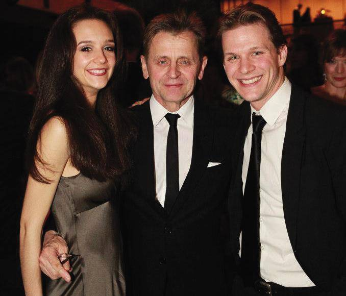 The gallery for --> Lisa Rinehart And Mikhail Baryshnikov ...