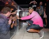 Haute Event: Pharrell Williams Gets Lucky at Pure Nightclub