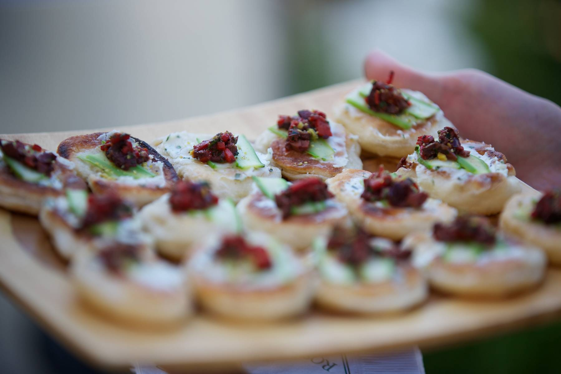 Summer Kickoff Goat Cheese Appetizer